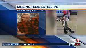 North Port teen Katie Sims reported missing [Video]