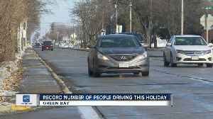 News video: Record number of people driving this holiday