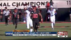 Mike Gundy on Chuba Hubbard [Video]
