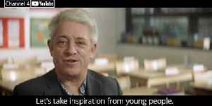 John Bercow delivers Channel 4's Alternative Christmas Message [Video]