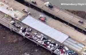 More than 35 injured in 69-vehicle pileup in Virginia [Video]