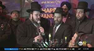 News video: Menorah Ceremony Brings Light, Kindness To Jersey City