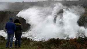 Storms Elsa, Fabien wreck parts of Western Europe [Video]
