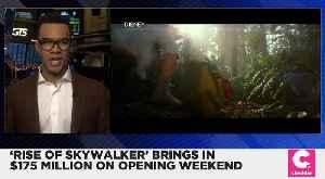 'Star Wars: Rise of Skywalker' Brings in $175 Million Opening Weekend [Video]