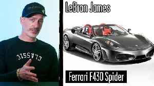 Car Expert Breaks Down Athlete Cars (Odell Beckham Jr, LeBron James) [Video]