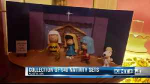 Austin woman has a collection of 940 Nativity sets [Video]