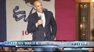 Cory Booker returns to North Iowa [Video]