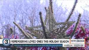 Families decorate trees in Garden of Angels for loved ones this holiday [Video]