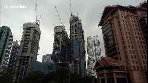 Kuala Lumpur's new leaning tower isn't collapsing - it's SUPPOSED to look that way [Video]