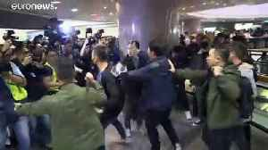 Watch live: Protesters in Hong Kong clash with police in shopping mall [Video]