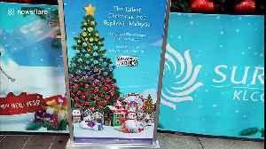 Yule love Malaysia in December, not least this 32m-high Christmas tree! [Video]