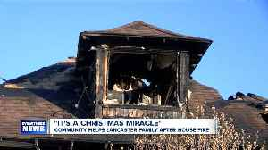Weekend fire leaves mother and four children without a home just before Christmas [Video]