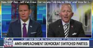 New GOP Rep. Jeff Van Drew Explains Why He Left The Democratic Party [Video]