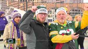 Packers fans excited for face-off with Vikings [Video]