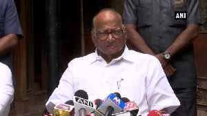 Jharkhand Assembly results clearly state that people are with Non BJP parties Sharad Pawar [Video]