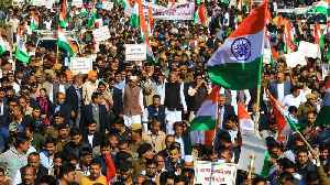 India's citizenship law: Opposition protests bill [Video]