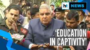 News video: 'Playing with fire': WB Guv after students block convoy outside Jadavpur University
