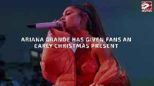 Ariana Grande drops live album [Video]