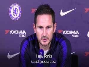 Frank Lampard gives update on Antonio Rudiger [Video]