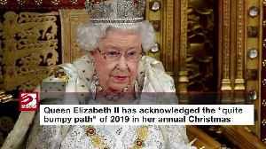 News video: Queen Elizabeth's bumpy path