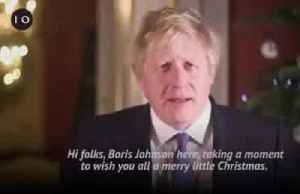 UK PM Johnson shares his Christmas message [Video]