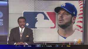 Dodgers Free Agent Pitcher Rich Hill, Wife Arrested [Video]