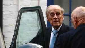 News video: Prince Philip leaves hospital as Queen admits to 'bumpy' year