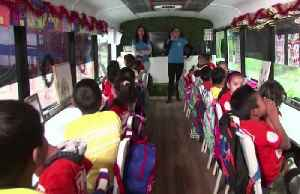 For migrant children in Mexico, a mobile classroom comes to them [Video]