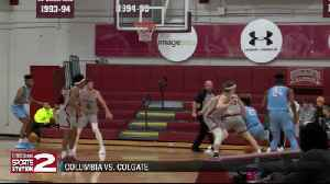 Colgate basketball programs finish out first semester strong [Video]
