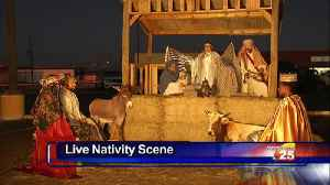 The Master's House held a live nativitiy Scene in honor of Christmas [Video]