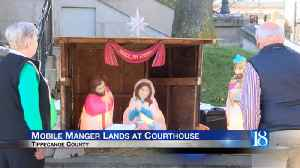 Mobile manger lands at the Tippecanoe County Courthouse [Video]