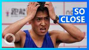 Marathon leader runs off course 200 meters from finish, loses race [Video]