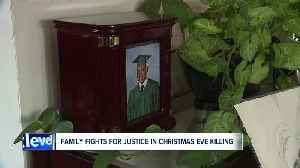 Holiday season brings grief, unanswered questions for murder victim's family [Video]