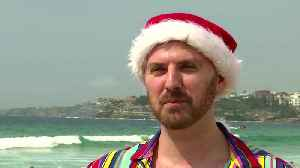 Australia's Bondi Beach celebrates Christmas [Video]