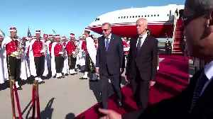 Turkey's Erdogan in Tunisia for surprise talks with president [Video]