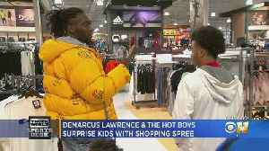 Demarcus Lawrence And The Hot Boyz Surprise Kids With Shopping Spree [Video]