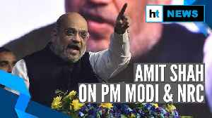 Watch: Amit Shah's response on PM Modi denying talks on NRC, detention camps [Video]