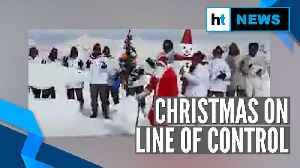 Watch: Jawans sing 'jingle bells' as they celebrate Christmas on LoC in Kashmir [Video]