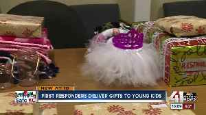 News video: Parkville police bring early Christmas to local families