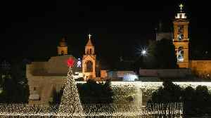 Christmas in Bethlehem: Tourists gather in city for occasion [Video]