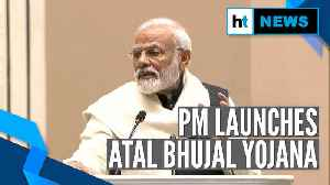 News video: PM Modi launches Atal Bhujal Yojana, names Rohtang passageway Atal Tunnel