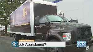 UPS Truck Abandoned And Unlocked In Natomas [Video]