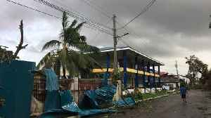 Typhoon misery for Philippines as Phanfone hits on Christmas Day [Video]