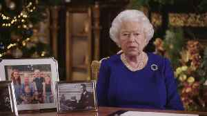 Queen acknowledges 'bumpy path' during Christmas Day message [Video]