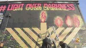 Chanukah Mural Begins The Healing After Jersey City Shooting [Video]