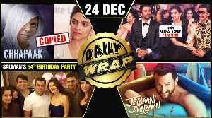 Deepika's Chhapaak In Trouble, Salman's 54th Birthday, Jawaani Jaaneman FIRST Look | Top 10 News [Video]