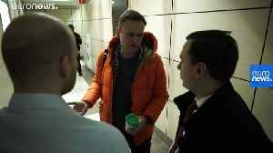 News video: Russian authorities ramp up pressure on Kremlin opponent Navalny and his allies