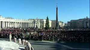 News video: Pope defends migrants, calls for peace in Christmas message