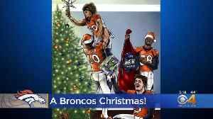 Denver Broncos Celebrate Christmas With Festive Cartoon [Video]