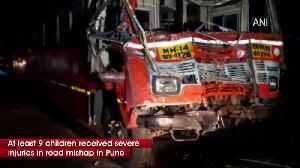 9 injured in Mumbai Pune expressway [Video]